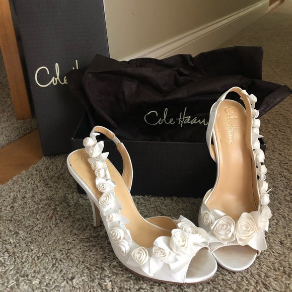 Cole Haan Shoes Like New Ceci Air Rose Slingback Wedding Poshmark